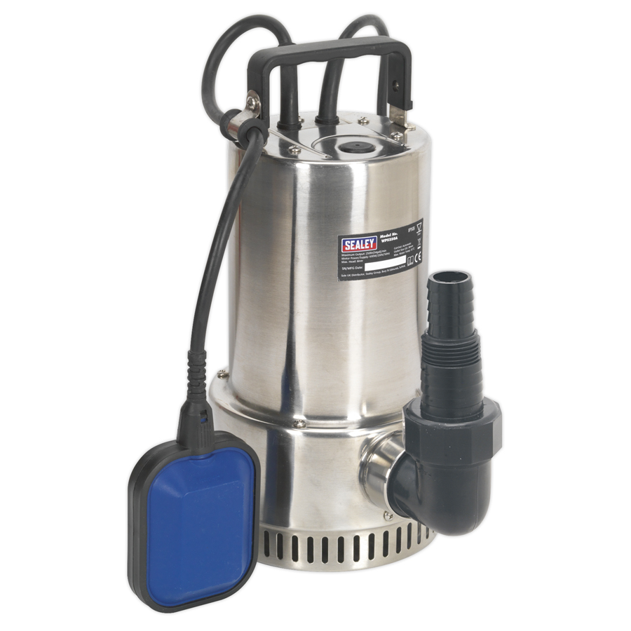 Sealey WPC100 Submersible Water Pump 100ltr//min 230V