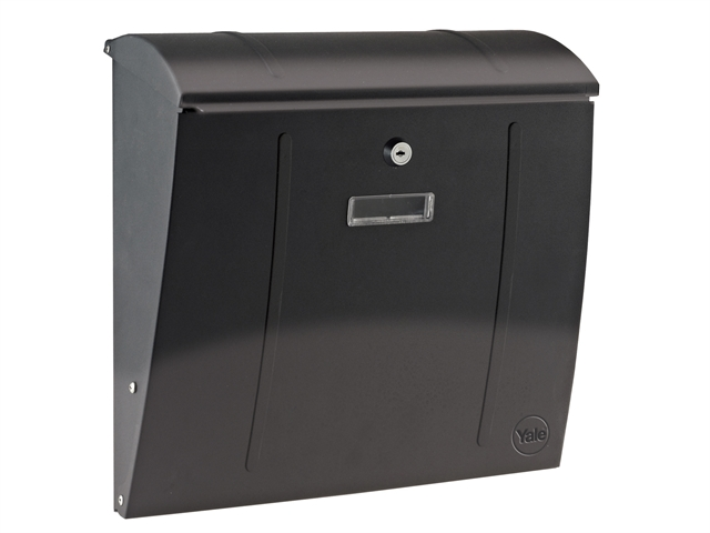 12IN YALE LETTER BOX COVER MAILBOX SLOT PLATE POLISHED CHROME 300MM